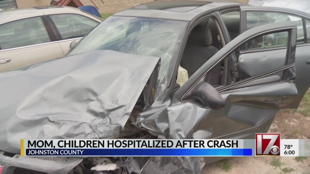 Harnett County mother, kids recovering after head-on crash