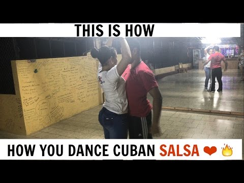 How To Dance Cuban Salsa-Trip to Havana Cuba(A Taste of Cuba)