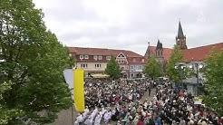 Katholischer Gottesdienst zu Fronleichnam in Heilbad Heiligenstadt im Eichsfeld (19.06.2014 ARD)