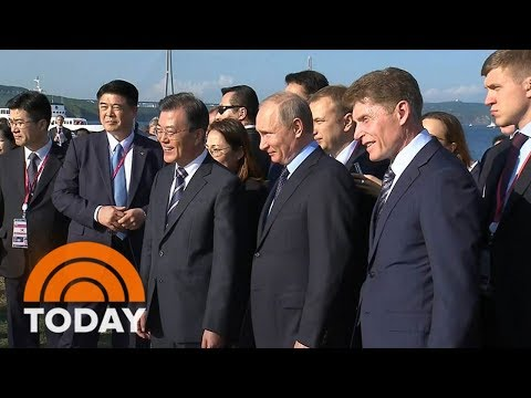 Russian President Vladimir Putin Attends Economic Conference Amid Tensions Over North Korea | TODAY