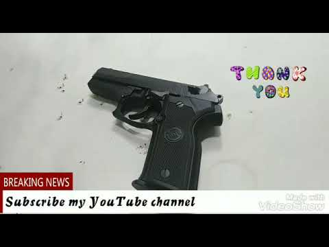 9mm stougar pistol cleaning and review