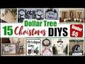 15 DIY Dollar Tree Christmas Decor Ideas / DIY Christmas Decorations / Momma From Scratch
