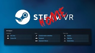 Steam VR: The Home update and you!