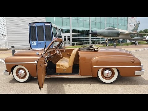 dodge wayfarer sportabout convertible youtube