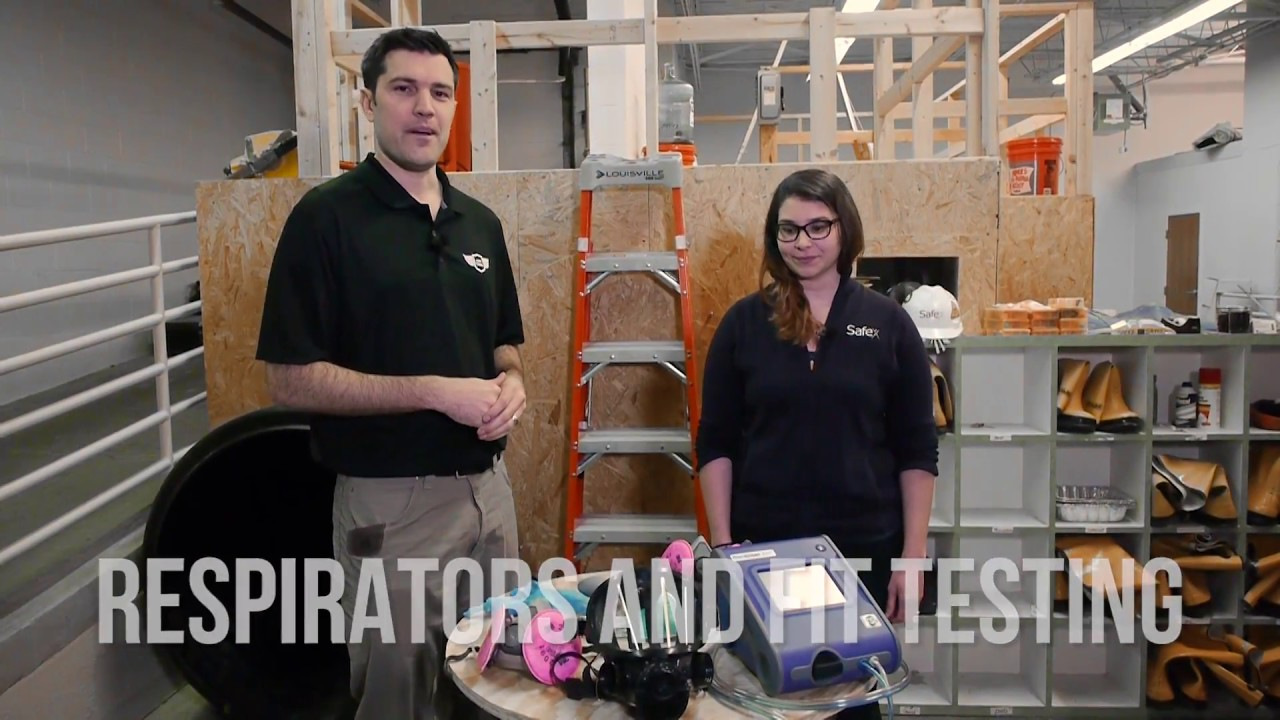 Respirator fit testing requirements demo on the job safety respirator fit testing requirements demo on the job safety tips with safex 1betcityfo Choice Image