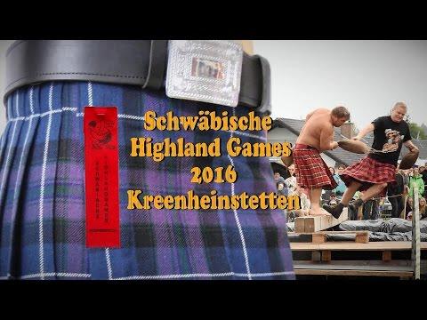 Schwäbische Highland Games 2016 Kreenheinstetten