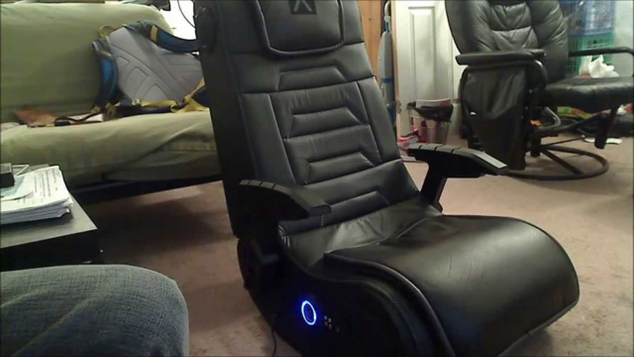 Xrocker H3 41 gaming chair 1 month after review  YouTube