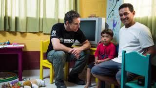 Ator Ben Stiller é nomeado embaixador global da Boa Vontade do Acnur