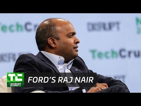 Ford's future focus with Raj Nair | Disrupt NY 2017