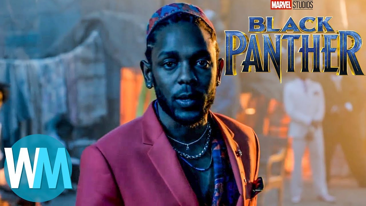 Top 5 Songs From The Black Panther Soundtrack Youtube