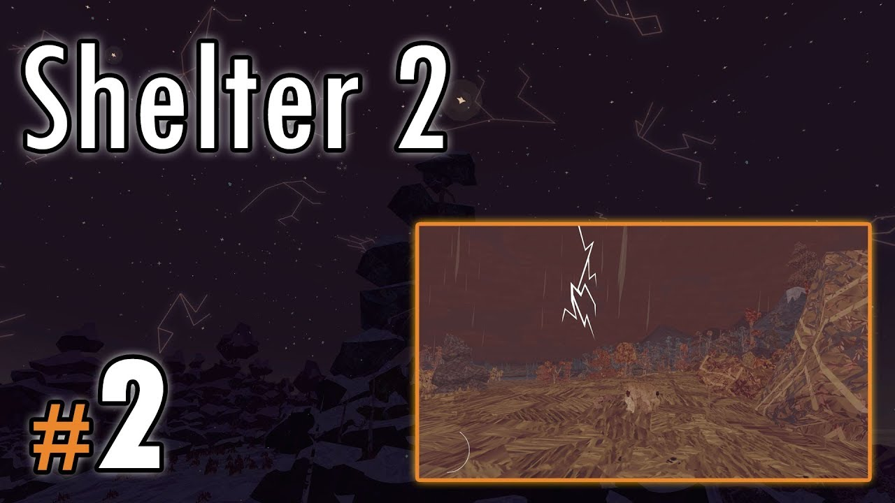 """Let's Play: Shelter II odc. 2 – """"Burza"""""""