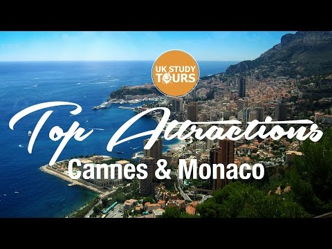 Top Attractions Cannes & Monaco - UK Study Tours