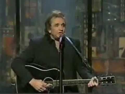 Johnny Cash - Delia's Gone live