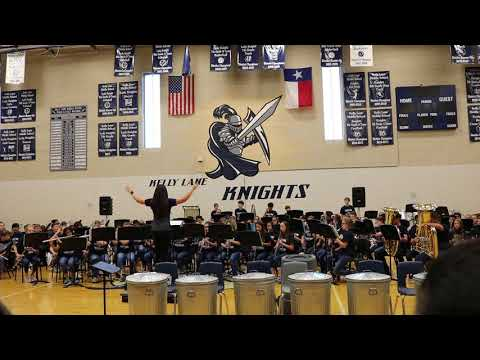 Kelly Lane Middle School Knight Band- Guardians of the Galaxy
