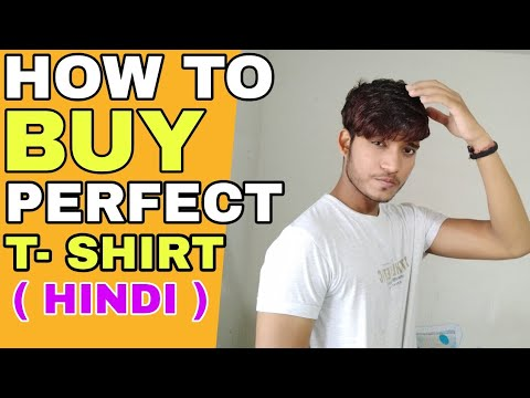 How To Buy Perfect T-shirt For Your Body Type | Hindi | How To More Look Attractive In T-shirt