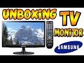 TV MONITOR SAMSUNG 21.5 FULL HD - UNBOXING !!!