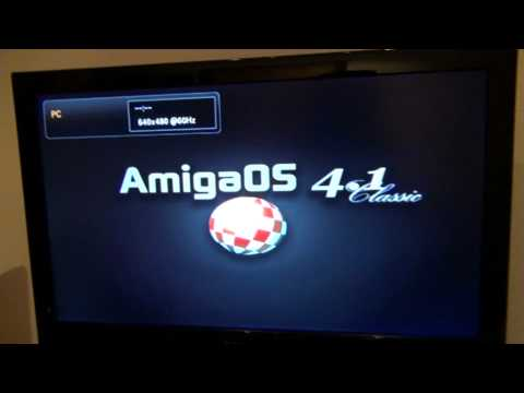 My A1200D PPC booting Amiga OS 4.1