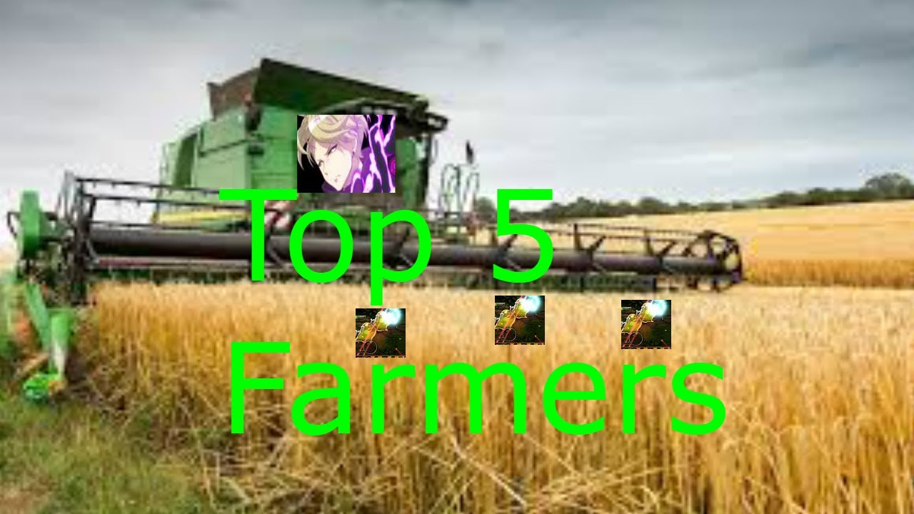 Epic Seven Top 5 Farmers In The Game Youtube