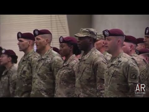 Fort Bragg: 9717 Lt General Townsend & 18th Airborne Welcome Home Ceremony