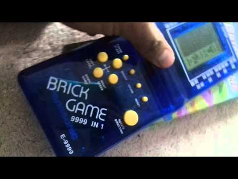Brick game 9999 in 1  unboxing and play!!