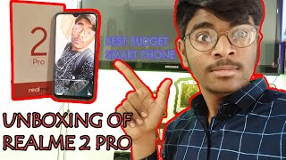UNBOXING of Realme 2 pro