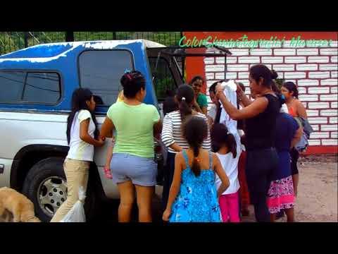 Reportaje sobre Chila de la sal, Puebla, México. Apoyo a damnificados.