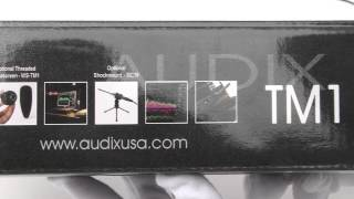 [Review]Audix Tm1 Plus Calibration Mic. Whether You're In The Studio Or On The Road, Proper