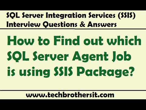 SQL Server Integration Services - Which SQL Server Agent Job Is Using SSIS Package