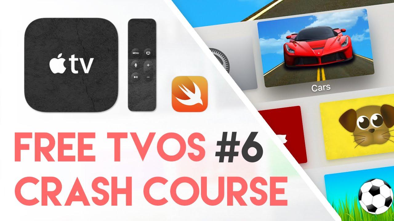 Free tvOS Swift Crash Course #6 - Parallax App Icons (Free Apple TV  Tutorial Crash Course)