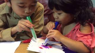 Airbrush Magic Pens That Works Change Color Like Magic Coloring Marker Learning Colors Kids Videos