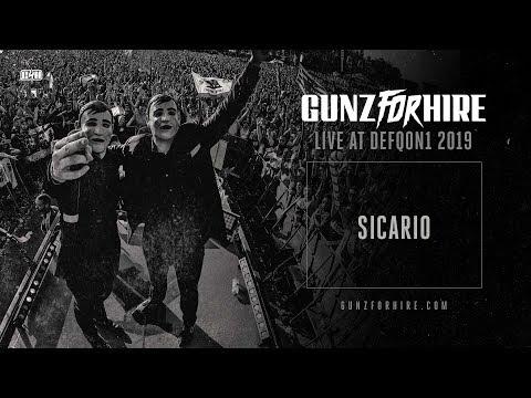 Gunz For Hire - Live At Defqon.1 2019 - Sicario