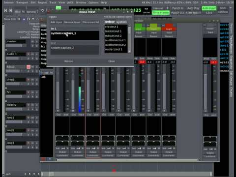 Ardour - Music Editing in Linux - Part #2