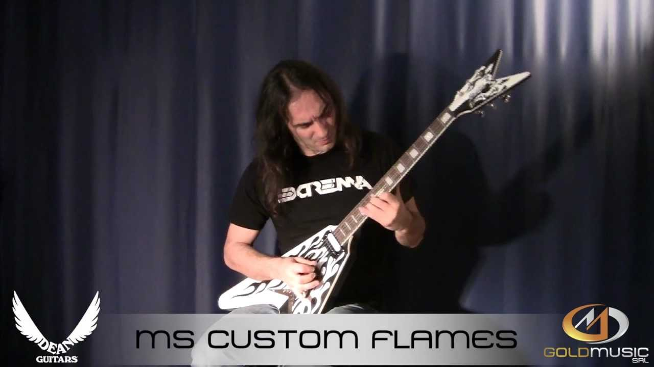 Dean MS CUSTOM FLAMES