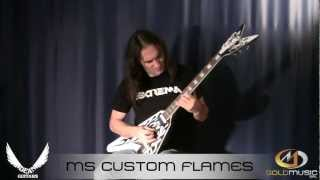 DEAN MS CUSTOM FLAMES DEMO BY TOMMY MASSARA