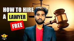 Free Legal Aid: How to Hire a Free Lawyer 2018