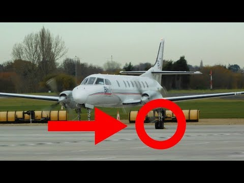 ✈ CHOCKS AWAY! Bin Air Fairchild Metro III Departure From London Southend Airport