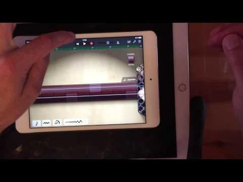 Échanger un projet GarageBand iOS via le cloud
