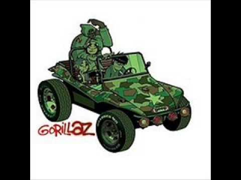 Gorillaz- Man Research (Clapper) (Gorillaz)