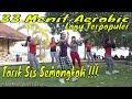 Senam aerobik pemula tarik sis semongko lagu malaysia paling mantul   Fesya sahara Aerobic