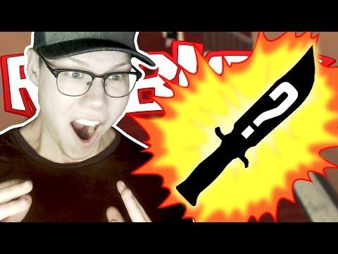 ROBLOX Murder Mystery 2 | I GOT A GODLY KNIFE