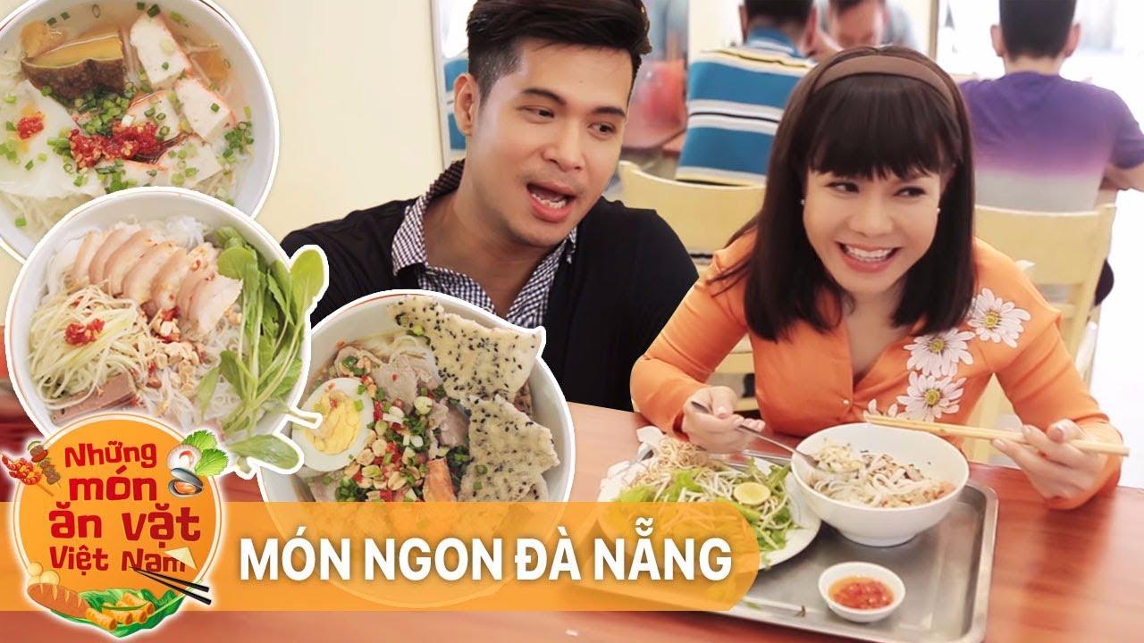 Mỳ Quảng Và Bún Mắm Nêm – Việt Hương ft Trương Thế Vinh  | Những Món Ăn Vặt Việt Nam