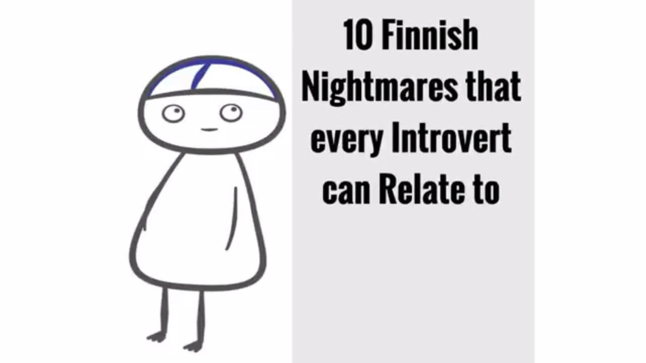 10 weird thoughts that every introvert has 26