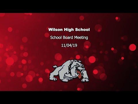 Board Meeting 11/18/2019