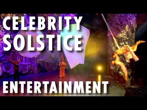 Celebrity Solstice Tour & Review: Entertainment ~ Celebrity Cruises ~ Cruise Ship Tour & Review