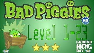 Bad Piggies Level 1-23 World I / Bad Piggies Nivel 1-23 Mundo I