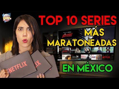 Las 10 series de Netflix más maratoneadas en México.