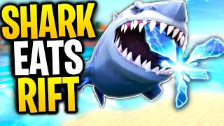 What Happens When A SHARK Goes THROUGH A RIFT? | Fortnite Mythbusters