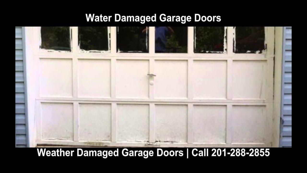 Hudson Garage Door Repair New Jersey Garage Door Repair Hudson County NJ  Weather Damaged Garage Door