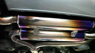 Nissan 350z GT - Amuse R1 Titanium Exhaust