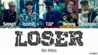 Big bang(빅뱅) - LOSER [Color Coded Han/Rom/Eng]
